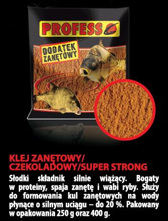Dodatek zan.KLEJ ZANĘTOWY super strong 250 g