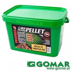PELLET multi  impulse 3 kg (mix smaków i średnic)